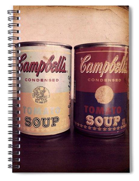 Campbells Redux 2 Spiral Notebook