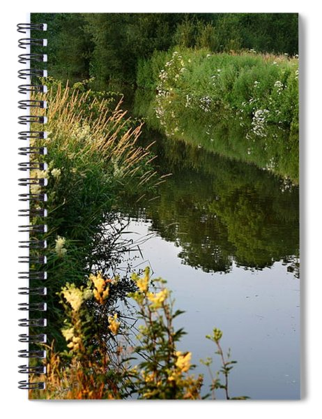 Canal Reflections Spiral Notebook
