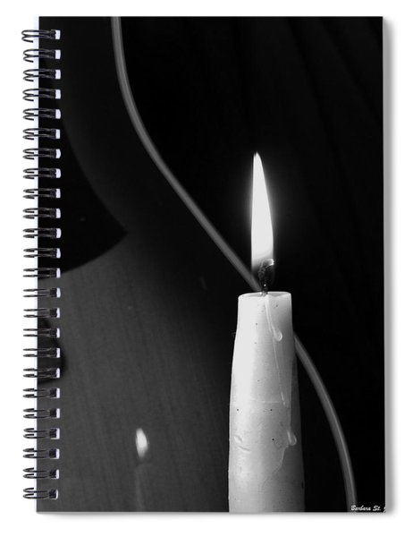 Candle Light Serenade Spiral Notebook