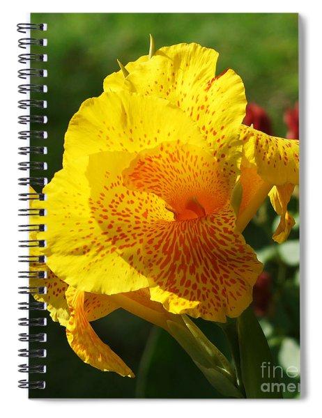 Canna Beauty Spiral Notebook