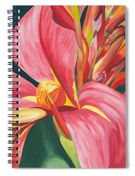 Canna Lily 2 Spiral Notebook