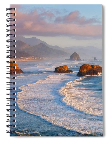 Cannon Beach Sunset Spiral Notebook