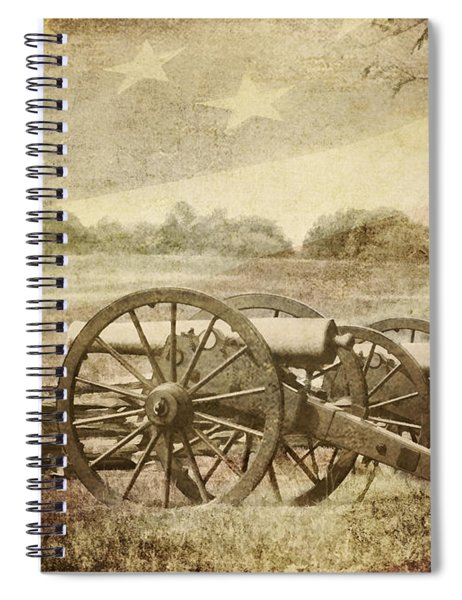 Cannons At Pea Ridge Spiral Notebook