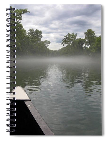 Canoeing The Ozarks Spiral Notebook
