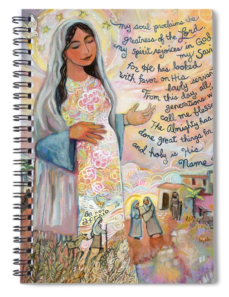 Canticle Of Mary Spiral Notebook