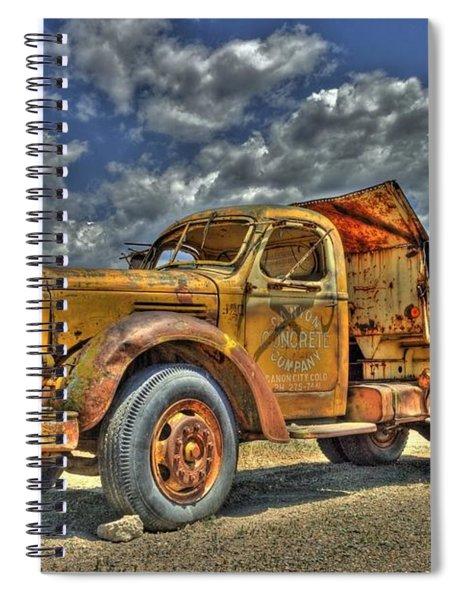 Canyon Concrete Spiral Notebook