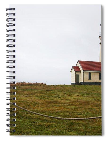 Cape Blanco Lighthouse Spiral Notebook