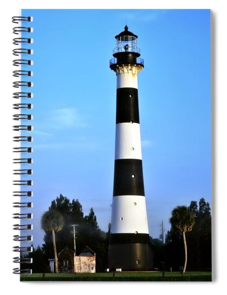 Cape Canaveral Light Spiral Notebook