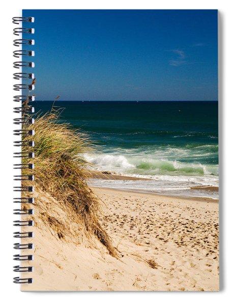 Cape Cod Massachusetts Beach Spiral Notebook