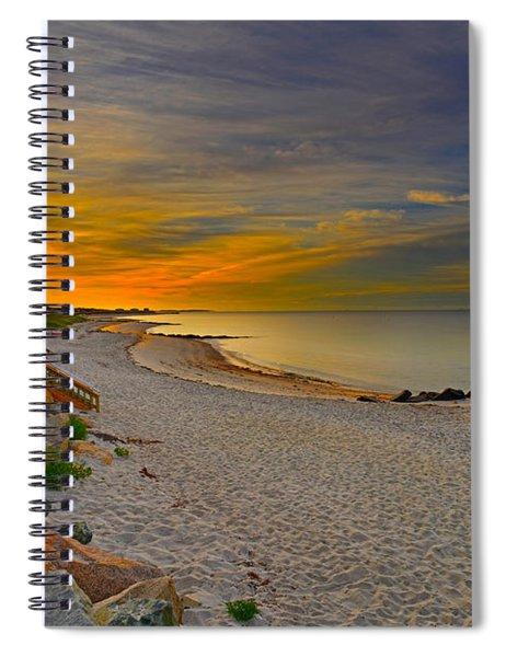 Cape Cod Sunrise #1 Spiral Notebook