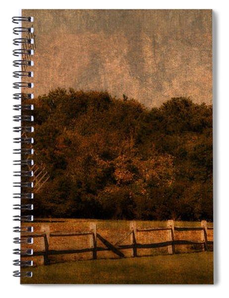 Cape Cod Windmill Spiral Notebook