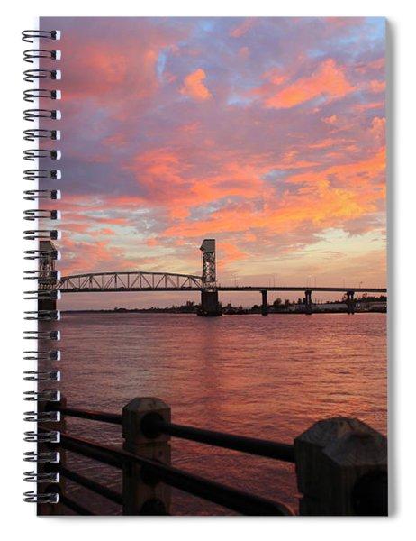 Cape Fear Bridge Spiral Notebook