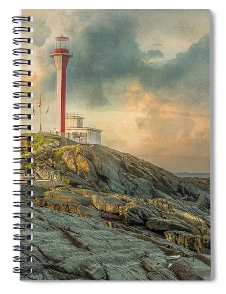 Spiral Notebook featuring the photograph Cape Forchu  by Garvin Hunter