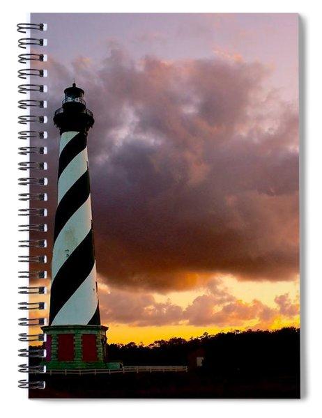 Cape Hatteras Sunset Spiral Notebook