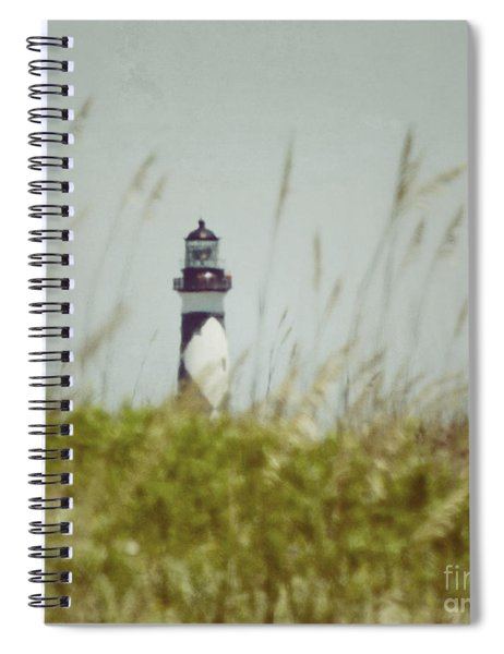 Cape Lookout Lighthouse - Vintage Spiral Notebook
