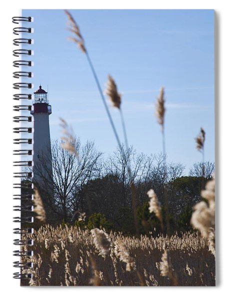Cape May Light Spiral Notebook