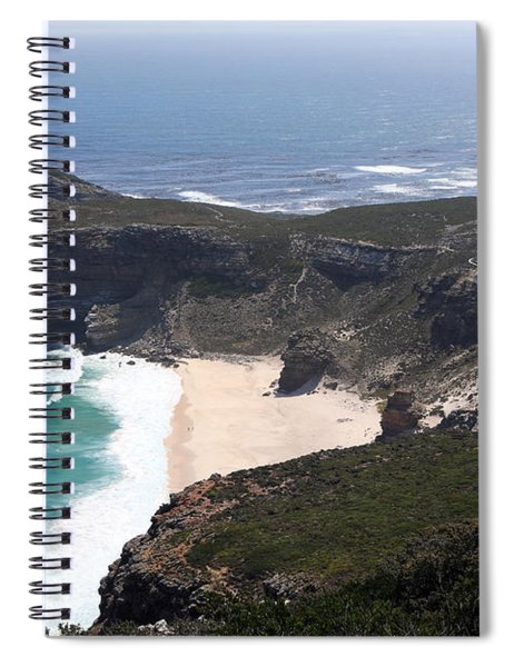 Cape Of Good Hope Coastline - South Africa Spiral Notebook