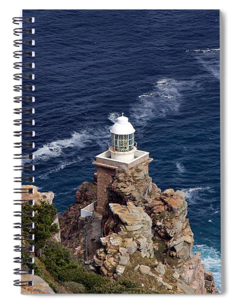 Cape Of Good Hope Lighthouse Spiral Notebook