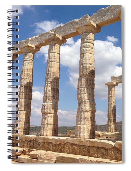 Cape Sounion Spiral Notebook