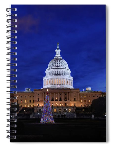 Capitol Christmas - 2013 Spiral Notebook