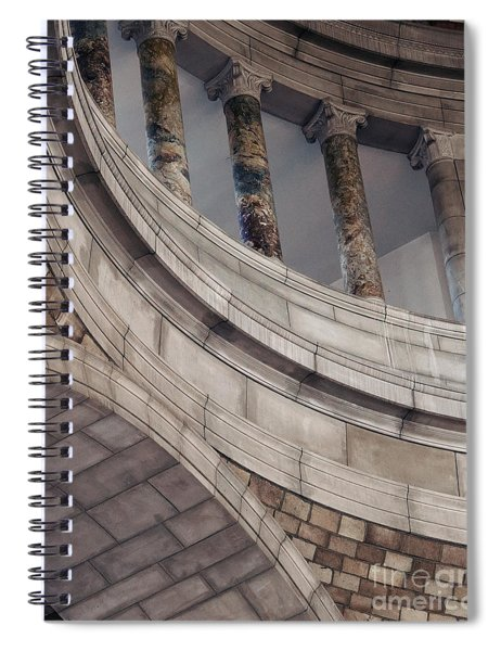 Capitol Curves Spiral Notebook