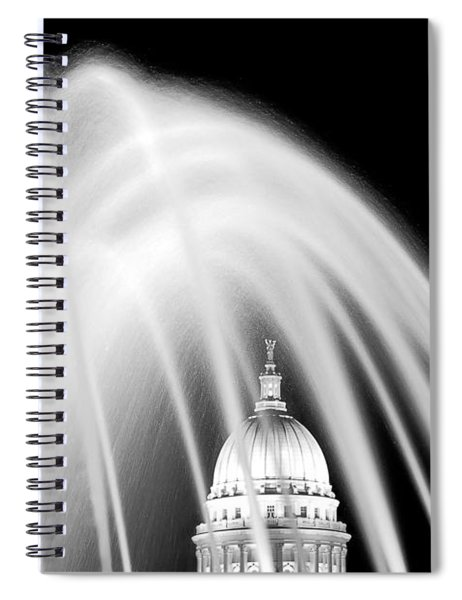 Capitol Fountain Spiral Notebook