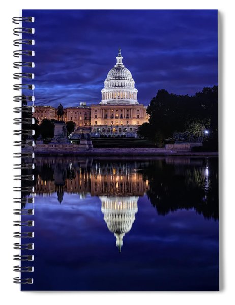 Capitol Morning Spiral Notebook