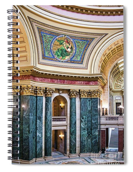 Capitol - Madison - Wisconsin Spiral Notebook