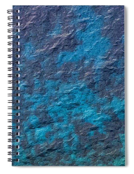 Capri Abstract Spiral Notebook
