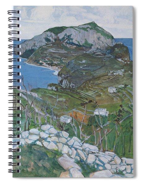 Capri, C.1904 Spiral Notebook