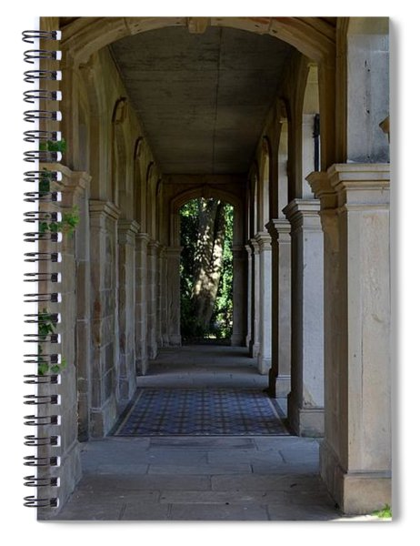 Spiral Notebook featuring the photograph Captain Cook Museum Walkway by Scott Lyons