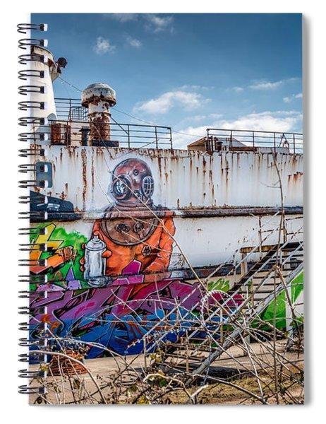 Captain Jack Spiral Notebook