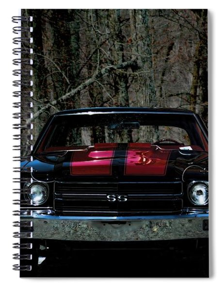 Car Art Chevy Chevelle Ss Hdr Spiral Notebook