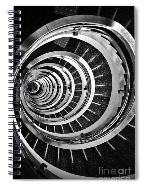 Time Tunnel Spiral Staircase In Sao Paulo Brazil Spiral Notebook