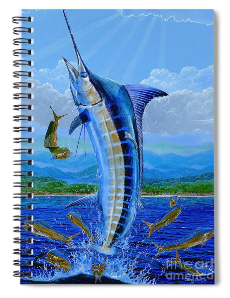 Caribbean Blue Off0041 Spiral Notebook