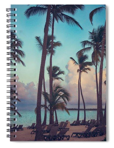 Caribbean Dreams Spiral Notebook