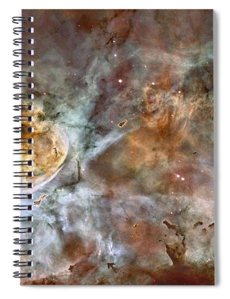 Carinae Nebula Spiral Notebook