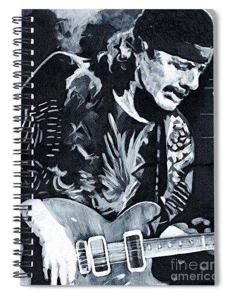 Carlos Santana - Black Magic Woman Spiral Notebook