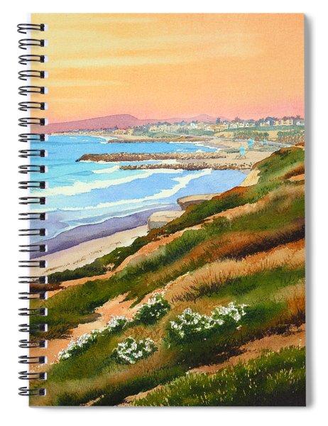Carlsbad Coastline Spiral Notebook