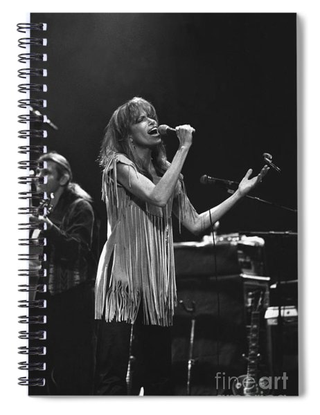 Carly Simon Spiral Notebook