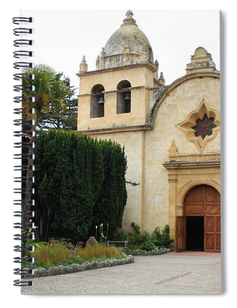 Carmel Mission Church Spiral Notebook