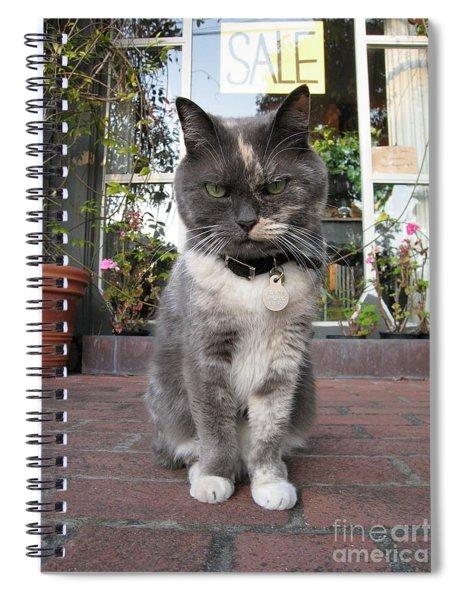 Carmel Shopkeeper Spiral Notebook