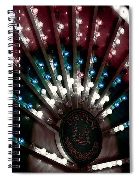 Carnival Lights Spiral Notebook
