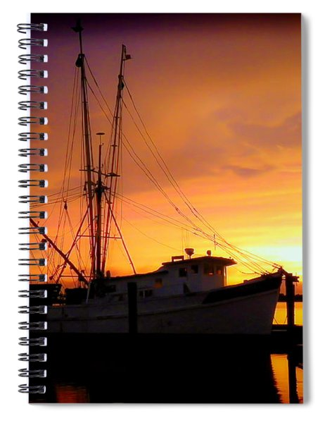 Carolina Morning Spiral Notebook