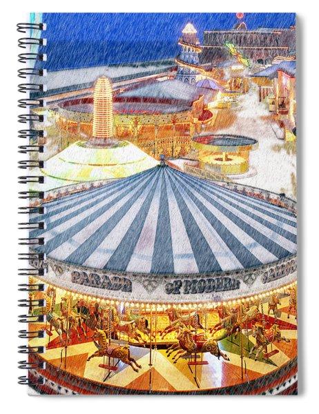 Carousel Waltz Spiral Notebook