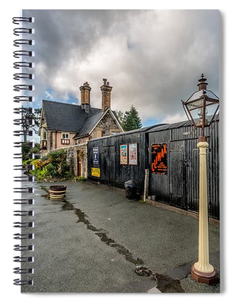 Carrog Railway Station Spiral Notebook