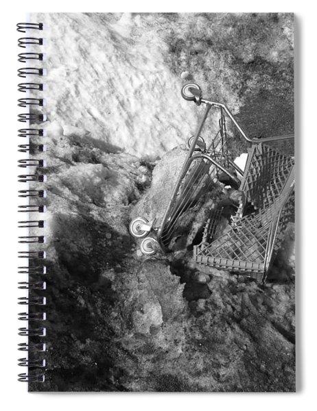 Cart Art No.7 Spiral Notebook