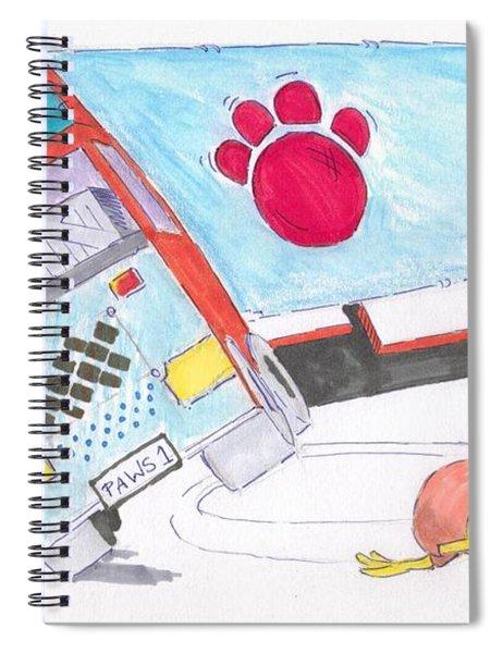 Cartoon Truck Lorry Spiral Notebook