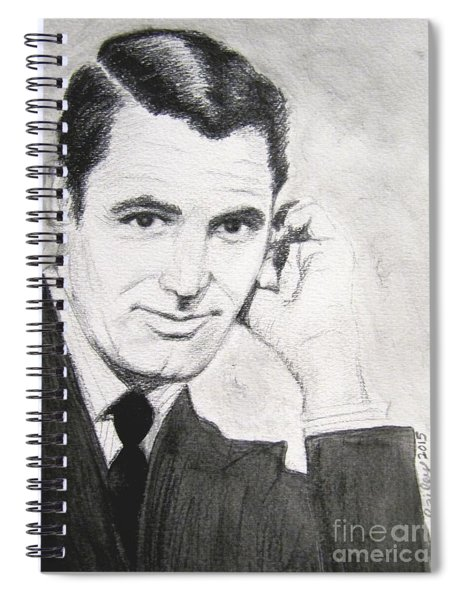 Cary Grant Spiral Notebook