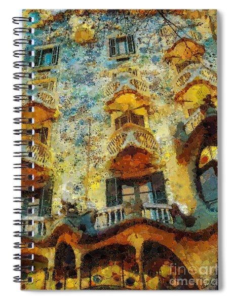 Casa Battlo Spiral Notebook